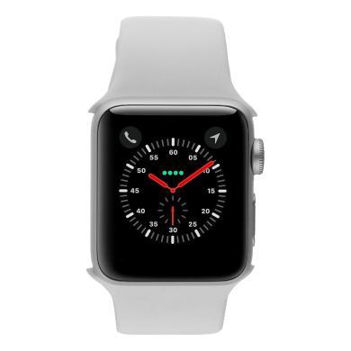 Apple Watch (Series 2) 38mm Aluminiumgehäuse Silber mit Sportarmband Weiss Aluminium Silber - neu