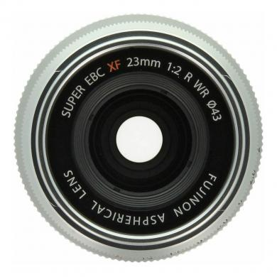 Fujifilm 23mm 1:2.0 XF R WR argent - Comme neuf