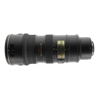 Nikon AF-S 70-200mm 1:2.8G VR IF-ED negro - buen estado