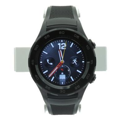 Huawei Watch 2 4G (eSIM) mit Sportarmband schwarz Schwarz - neu