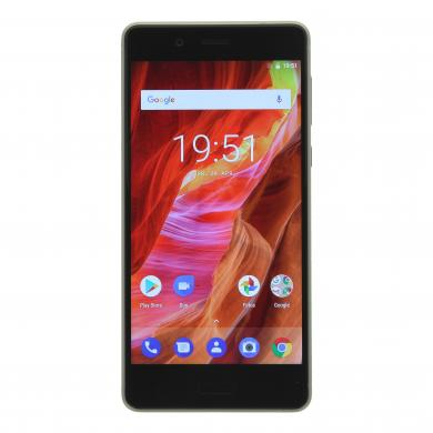 Nokia 8 Single-Sim 64GB plata - buen estado