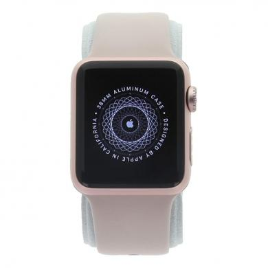 Apple Watch Series 1 boitier en aluminiumrose or 38mm avec Bracelet sport rose sable aluminium rose or - Neuf