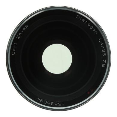 Zeiss 35mm 1:1.4 ZE Distagon T* pour Canon noir - Neuf