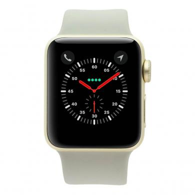 Apple Watch Series 2 - caja de aluminio en oro 38mm - correa deportiva beton - buen estado