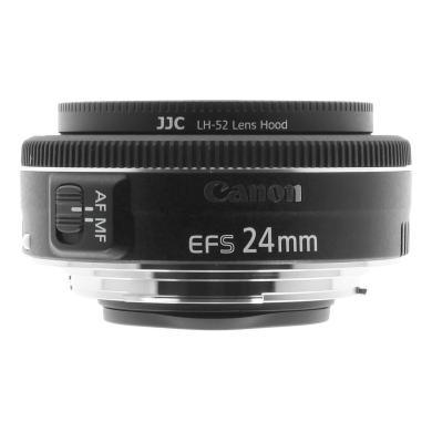 Canon 24mm 1:2.8 EF-S STM schwarz - neu