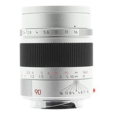 Leica 90mm 1:2.4 Summarit-M plata - nuevo