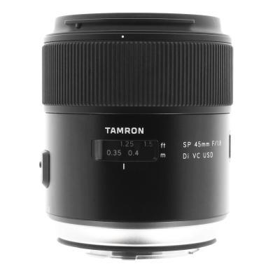 Tamron 45mm 1:1.8 AF SP Di VC USD pour Canon noir - Neuf