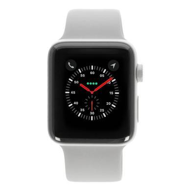 Apple Watch Series 2 Keramikgehäuse weiss 42mm mit Sportarmband weiss keramik weiss - neu