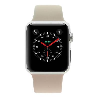 Apple Watch Series 1 boitier en aluminiumargent 38mm avec Bracelet sport rose sable aluminium Argent - Neuf