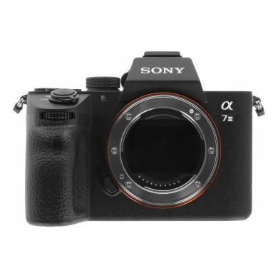Sony Alpha 7 III negro - nuevo