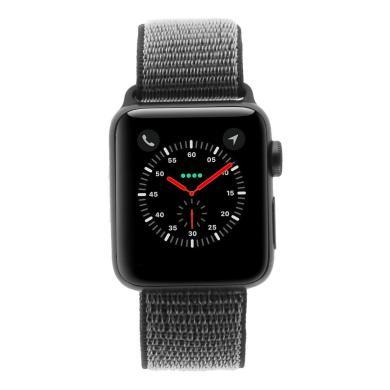 Apple Watch Series 3 Aluminiumgehäuse grau 38mm mit Sport Loop olivgrün (GPS + Cellular) aluminium grau - neu