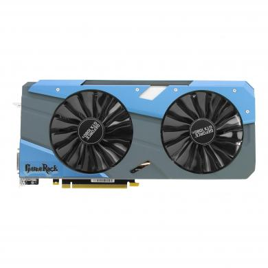 Palit GeForce GTX 1080 Ti GameRock Premium (NEB108TH15LCG) schwarz/blau - neu