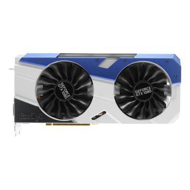 Palit GeForce GTX 1080 GameRock Premium (NEB1080H15P2G) plata/azul - nuevo