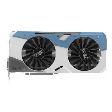 Palit GeForce GTX 1080 GameRock (NEB1080T15P2G) silber/blau - neu