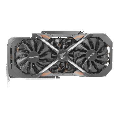Gigabyte  Aorus GeForce GTX 1080 Ti 11G (GV-N108TAORUS-11GD) schwarz - neu
