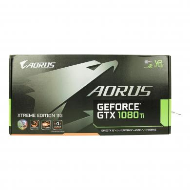 Gigabyte Aorus GeForce GTX 1080 Ti Waterforce Xtreme Edition 11G (GV-N108TAORUSX W-11GD) schwarz - neu