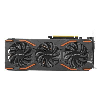 Gigabyte GeForce GTX 1080 Windforce OC 8G (GV-N1080WF3OC-8GD) schwarz - neu