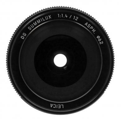 Panasonic 12mm 1:1.4 Leica DG Summilux ASPH (H-X012E) negro - nuevo