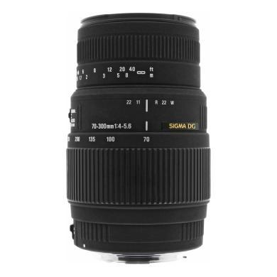 Sigma 70-300mm 1:4.0-5.6 AF DG macro pour Canon EF noir - Neuf