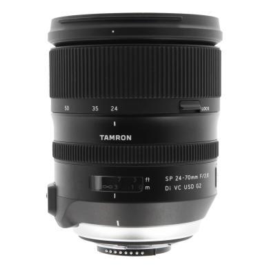 Tamron 24-70mm 1:2.8 SP AF Di VC USD G2 para Nikon (A032N) negro - nuevo