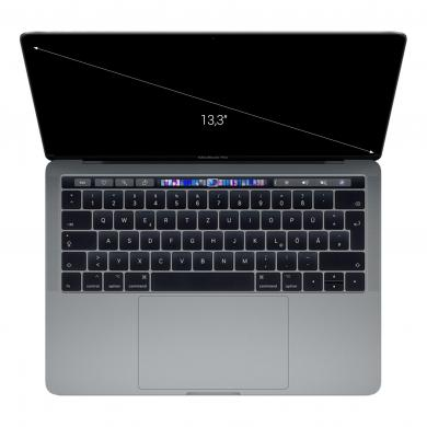 "Apple MacBook Pro 2018 13"" (QWERTZ) Touch Bar/ID Quad-Core Intel Core i7 2,30GHz 256Go SSD 8Go gris sidéral - Bon"
