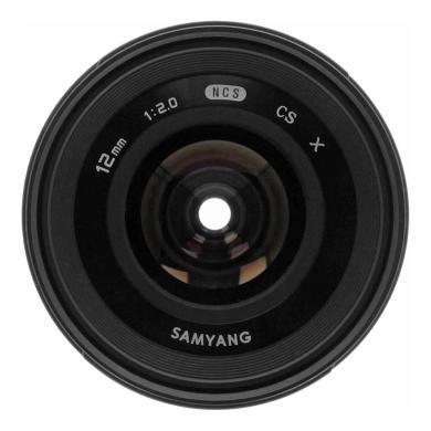 Samyang 12mm 1:2.0 NCS CS pour Fujifilm X noir - Neuf