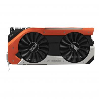 Gainward GeForce GTX 1080 Phoenix GLH (3668) schwarz & rot - gut