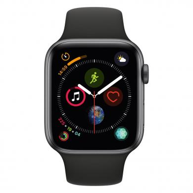 Apple Watch Series 4 44mm caja de aluminio en gris y correa sport negra (GPS) - buen estado