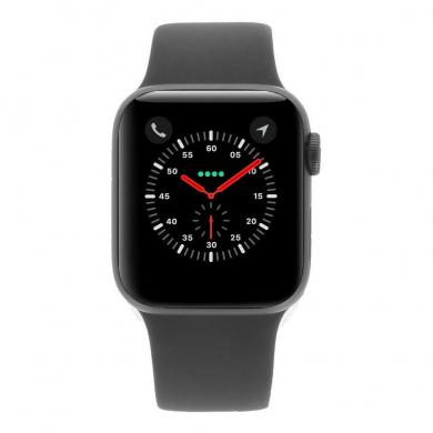 Apple Watch Series 4 40mm caja de aluminio en gris y correa sport negra (GPS+Cellular) - nuevo