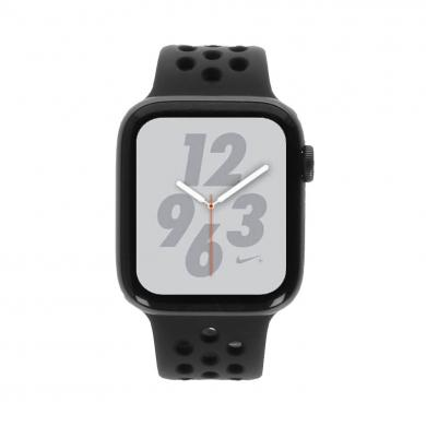 Apple Watch Series 4 Nike+ - boîtier en aluminium gris 44mm - bracelet sport anthracite/noir (GPS+Cellular) - Bon