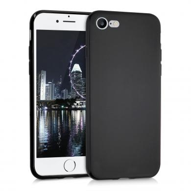 kwmobile Soft Case für Apple iPhone 7 / 8 (39458.01) schwarz - neu