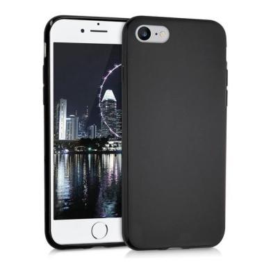 kwmobile TPU Case für Apple iPhone 7 / 8 mattschwarz (39458.01) - neu