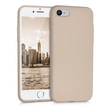 kwmobile TPU Case für Apple iPhone 7 / 8 beige matt (39458.11) - neu