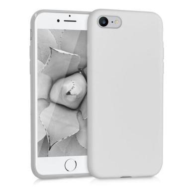 kwmobile TPU Case für Apple iPhone 7 / 8 hellgrau matt (39458.70) - neu
