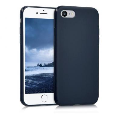 kwmobile TPU Case für Apple iPhone 7 / 8 dunkelblau (39458.17) - neu
