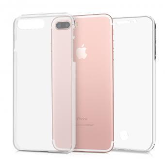 kwmobile TPU Case für Apple iPhone 7 Plus / 8 Plus (44957.03) transparent - neu