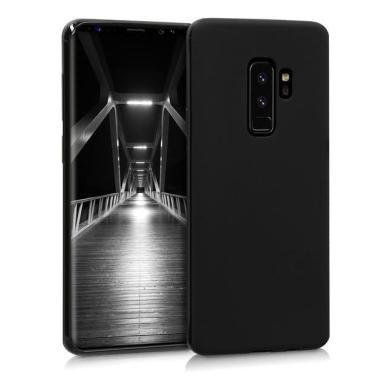 kwmobile TPU Case für Samsung Galaxy S9 Plus mattschwarz (44096.47) - neu