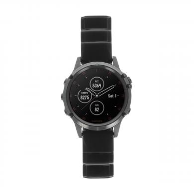 Garmin Fenix 5 Plus Saphir bracelet en titane (010-01988-03) noir - Neuf