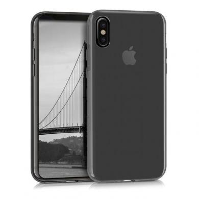 kwmobile Crystal Case für Apple iPhone X schwarz (42500.01) - neu