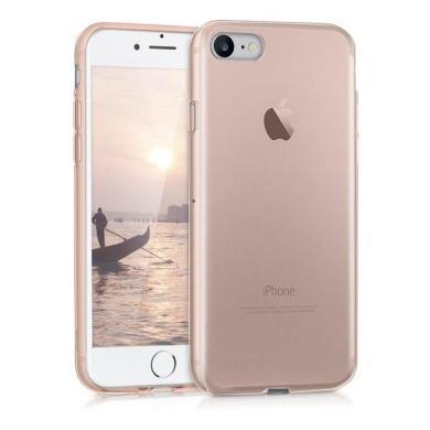 kwmobile Crystal Case für Apple iPhone 7/8 rose gold (39449.81) - neu