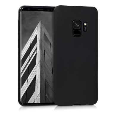 kwmobile TPU Case für Samsung Galaxy S9  schwarz matt (44089.47) - neu
