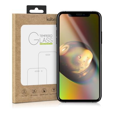 kwmobile Glas Folie für Apple iPhone X schwarz (44756.01) - neu