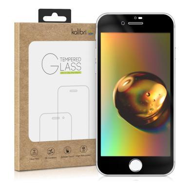 kwmobile Glas Folie für Apple iPhone 7 / 8 schwarz (46189.01) - neu
