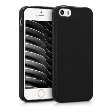 kwmobile TPU Case für Apple iPhone SE / 5 / 5S schwarz (33098.01) - neu
