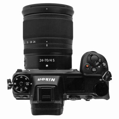 Nikon Z 7 schwarz mit Objektiv Z 24-70mm 4.0 S (VOA010K001) schwarz - neu