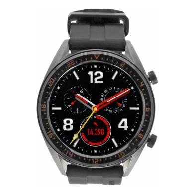 Huawei Watch GT Active grau mit Silikonarmband grün grau - neu