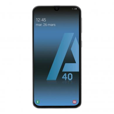 Samsung Galaxy A40 Duos (A405FN/DS) 64GB blanco - buen estado