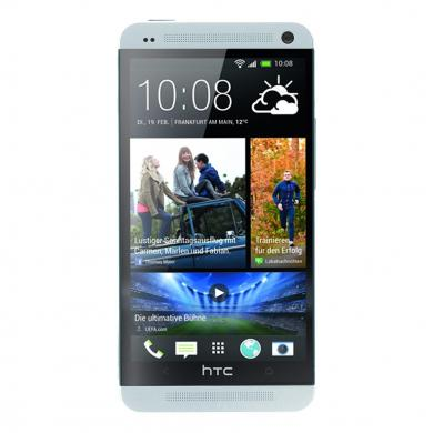 HTC One M7 Dual SIM 16GB plata - nuevo
