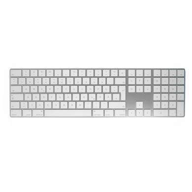 Apple Magic Keyboard QWERTY mit Ziffernblock (A1843 / MQ052LL/A) silber