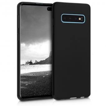 kwmobile Soft Case für Samsung Galaxy S10 (47447.47) schwarz matt - neu